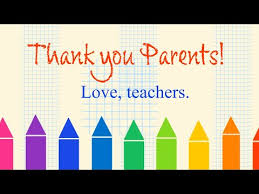 Thank you to parents - YouTube