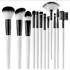 12 piece makeup brush set uses