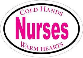 Nurse Pink Oval Bumper Sticker Car Decal Nursing Gift Cna Er Registered Nurse Car Truck Parts Moonnepal Com