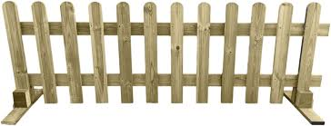 Ruby Portable Freestanding Treated Wooden 6ft Picket Fence Panel 2ft High 1 Amazon Co Uk Garden Outdoors