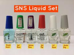 sns nail powder set papillon day spa