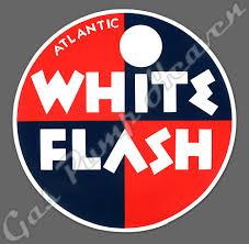 Gas Pump Heaven Decals Brand Decals Atlantic White Flash Decal
