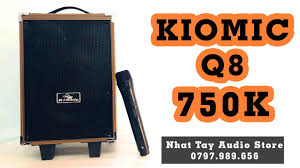 Kiomic Q8 - Loa Karaoke Mini Mới Nhất 2020| Loa Kẹo Kéo Hay Nhất ...