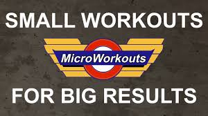 micro workout build muscle and burn fat