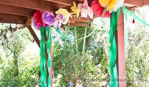 a fairy garden birthday party simple