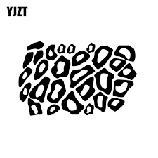 Yjzt 16cm 10cm Minimalist Leopard Cheetah Animal Print Graphical For Car Sticker Vinyl Decal Black Silver C11 1175 Car Stickers Aliexpress