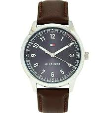 watch men s brown leather strap