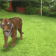 life-sized animals in AR through Google ...