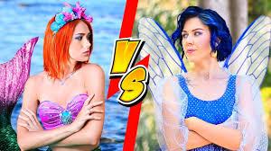 diy mermaid makeup vs fairy makeup