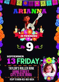 Coco Birthday Party Invitation En 2020 Fiesta De Coco Fiestas