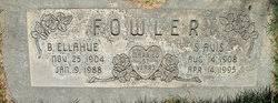 Sarah Avis Almon Fowler (1908-1995) - Find A Grave Memorial