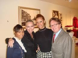 Blog Party: Martina Smith, me, Diamond Ingram and Donald Snead