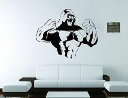 King Kong Wall Mural Vinyl Decal Sticker Decor Gorilla Monkey Movie Ebay
