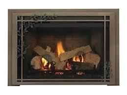propane gas fireplace insert installed