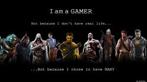 gamer poster computer quote of the day smart phone think