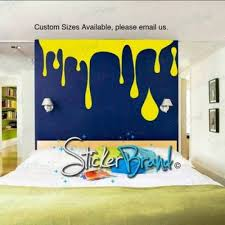 Vinyl Wall Decal Sticker Paint Dripping S Drip Painting Vinyl Wall Decals Wall Decal Sticker