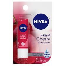 nivea lip care a kiss of cherry fruity