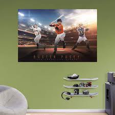 San Francisco Giants Buster Posey Wall Decal By Fathead Wall Decals San Francisco Giants Wall Murals