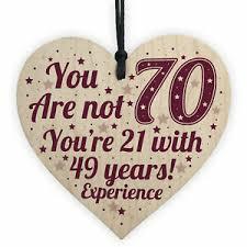 70th birthday gift for women men 70th