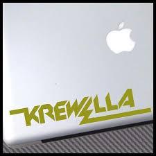 Krewella Logo Edm Vinyl Decal Sticker Vinyl Decal Stickers Vinyl Decals Vinyl Sticker