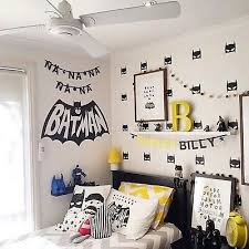 16 Large Batman Wall Sticker For Kids Room Baby Boy Room Wall Decor Kids Bed Ebay