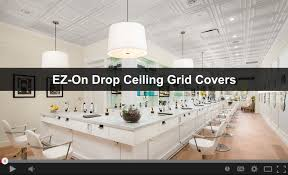 how to install ez on grid covers ceilume