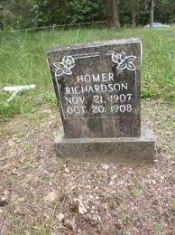 RICHARDSON, HOMER - Boone County, Arkansas | HOMER RICHARDSON - Arkansas  Gravestone Photos