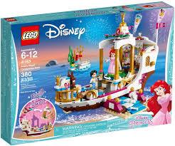LEGO Disney Princess 41153 Du thuyền hoàng gia của Nàng Tiên cá ...