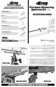 Kreg Kms8000 Instructions Assembly Manualzz