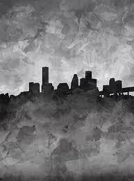 City Of Houston Art Pixels