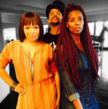 Tisha Campbell with rOSERO MCCOY & Tasha Smith | Westpoppn