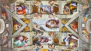 sistine chapel art hides secret female