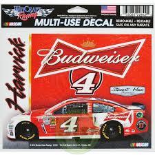 Multi Use Decal 2014 Nascar 4 Budweiser Kevin Harvick Nascarjolly 6 95