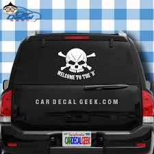 Welcome To The D Vinyl Car Decal Sticker Detroit Decals
