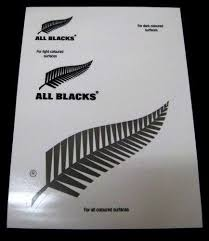 All Blacks Silver Fern Logo Set Of 5 Uv Car Decal Sticker Stickers Sheet Itag Car Decals Motoring Guy Stuff