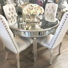 25 mirrored dining room table decor