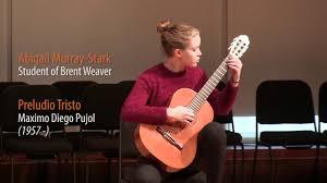 Abigail Murray-Stark - Preludio Tristo - YouTube
