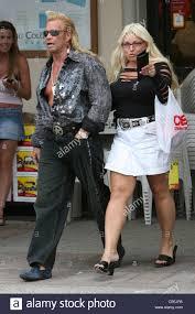 Duane Chapman aka 'Dog' the bounty hunter and his wife Beth Smith Stock  Photo - Alamy