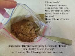 homemade truvia brown sugar recipes