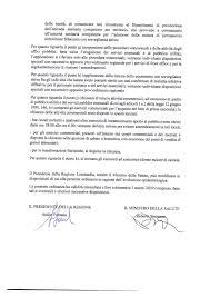 Coronavirus: da Regione ordinanza con disposizioni per tutta la Lombardia