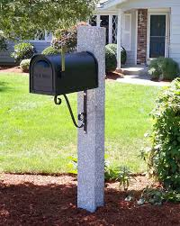 Granite Posts Mailboxes Brackets And Accessories Westwood Mills