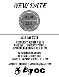 New ADA Day Date - United Cerebral Palsy of Greater Cleveland