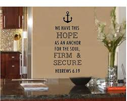Anchor We Have This Hope As An Anchor Buy Online In Bahamas At Desertcart