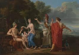 greek mythology clic art judgment