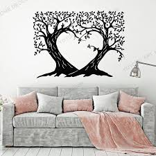 Vinyl Small Wall Decal Tree Branch Roots Nature Forest Living Room Bedroom Interior Sticker Meditation Room Art Mural Rb 103 Wall Stickers Aliexpress