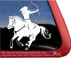 Custom Norwegian Fjord Horse Decals Stickers Nickerstickers