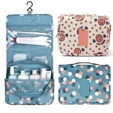 free pattern zipper cosmetic bag