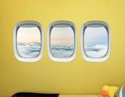 Airplane Wall Decals For Kids Rooms Aviation Wall Stickers Plane Wi