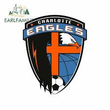 Charlotte Eagles Fc Usl Soccer Decal Sticker Truck Window Bumper Laptop