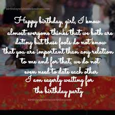best birthday wishes for best friend girl r tic and funny wishes